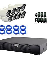 8ch ip camera kit