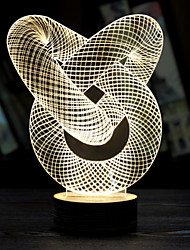 Luminous Christmas Spiral Lamp Valentine's Day Gift