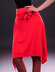 Latin Dance Dresses&Skirts Women's Performance Spandex Leopard 1 Piece Black / Red / Leopard Print