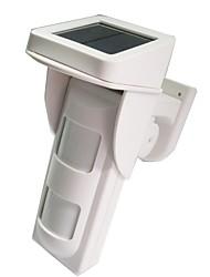 Wireless Solar-Lade outdoor Doppelinfrarotdetektor