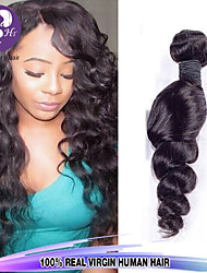 "3pcs/Lot 8""-30"" Mix Size Color #1B Malaysian Wave Virgin Human Hair Extensions Bundles Thick & Soft"
