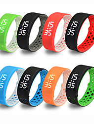 W9 Смарт-браслет / Датчик для отслеживания активностиЗащита от влаги / Длительное время ожидания / Израсходовано калорий / будильник /