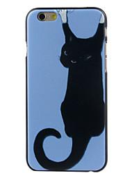 Pour Coque iPhone 6 / Coques iPhone 6 Plus Motif Coque Coque Arrière Coque Chat Dur Polycarbonate iPhone 6s Plus/6 Plus / iPhone 6s/6