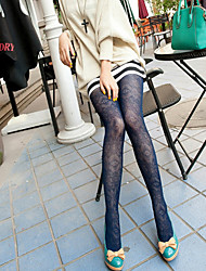 Women's Vintage Stripe Tight Pantyhose