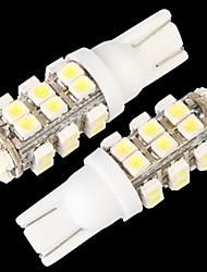 10 * T10 W5W 168 lampe ampoule de coin 194 de côté blanc 28 SMD LED 12v lumière