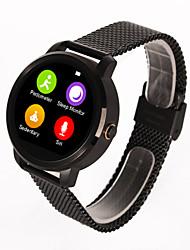 ordro® V360 originais bt relógio inteligente, à prova de água, de aço inoxidável, suporte pedômetro, fotografia remoto para o