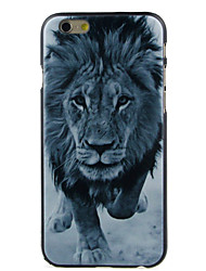 A lion High Quality and Good Price Pattern  Hard Case for iPhone 6/6S