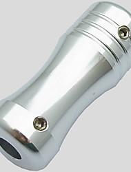 3pcs tatuaje basekey agarre de aluminio medio vuelta tallo color al azar