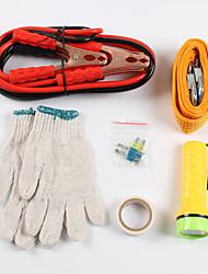 12pcs volte kit di emergenza del veicolo kit per auto di emergenza gli strumenti di manutenzione auto kit accessorio