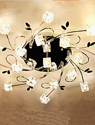 Classic Ice Crystal Ceiling Lamp