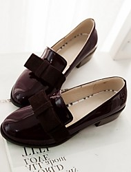 Women's Shoes  Low Heel Pointed Toe / Closed Toe Flats Office & Career / Dress / Casual Black / Brown / Red / Gray