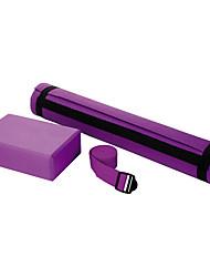 PVC Yoga Mats / Yoga Blokken / Yoga Bandjes 173*61*0.6 Non Slip / Kleverig / Geurvrij 4.0 Paars JOEREX