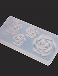 1pcs 3D DIY Nail Art Molds Carved Mold