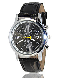 2015 Geneva Leather Men's Brand Watch Wrist Watch Cool Watch Unique Watch
