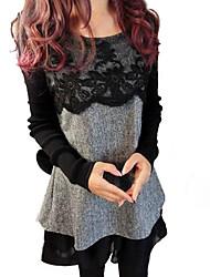 Women's Sweet Lace Loose Dress
