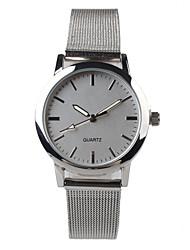 Exquisite Fashion Silver Steel Belt Strap Watch Women's Watch Cool Watches Unique Watches