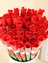 10PCS Valentine's Day Gift Romantic Love Roses Flowers