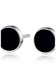 Earring Stud Earrings / Hoop Earrings Jewelry Women / Men / Couples Party / Daily / Casual Sterling Silver / Alloy 2pcs