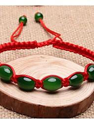 Natural jade jade transfer bead bracelet