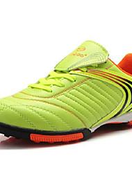 Zapatos Fútbol Sintético Negro / Azul Mujer