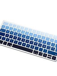 spagnolo lingua arcobaleno copertura della pelle della tastiera del silicone ultra sottile sfumatura per tastiera magia 2015 versione di