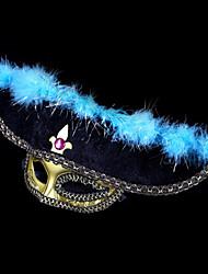 #carnival acc # 17 * 20cm chapeau de pirate masque la moitié du visage