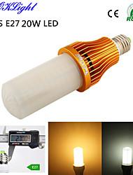 20W E26/E27 Ampoules Maïs LED T 260 SMD 3528 1700 lm Blanc Chaud / Blanc Froid Décorative AC 100-240 / AC 110-130 V 1 pièce