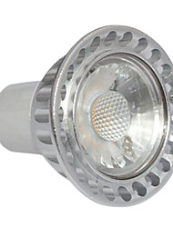3W GU10 Focos LED MR16 1 COB 260-300 lm Blanco Cálido Regulable AC 100-240 V