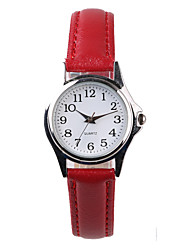Manufacturers Selling Lucky Red Belt Women's Watch Cool Watches Unique Watches