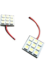 Hot Selling T10, BA9S, Festoon Car Led License Plate light, Car LED Bulbs T10 5050 9SMD Bright Lightness LED La
