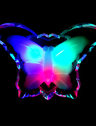 Energy Conservation And Warm Color Led Butterfly Creative Small Night Light Lamp LED