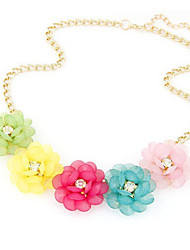 New Arrival Fashion Jewelry Fresh Candy Flower Necklace