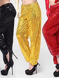 Jazz Bottoms Women's Performance Cotton Sequins 1 Piece Black / Red / Silver / Yellow