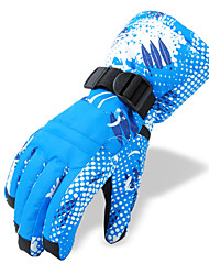 Ski Gloves Winter Gloves / Mittens Women's / Men's Activity/ Sports GlovesKeep Warm / Anti-skidding / Waterproof / Wearproof / Windproof