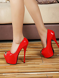 Women's Shoes 15CM Heel Height Sexy Peep Toe Stiletto Heel Pumps Party Shoes More Colors available
