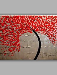 Knife Tree Painting By Handmade