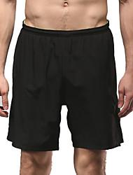 Vansydical Per uomo Asciugatura rapida Fitness Pantaloni Verde / Nero