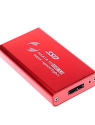 1,8 pouces USB 3.0 HDD disque dur mobile boîte rouge