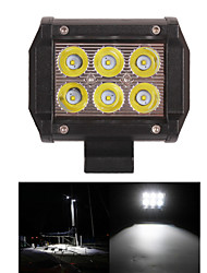 18W CREE LED Spot WORK LIGHT FOR OFF ROAD 4X4 4WD ATV UTV SUV Driving Fog Lamp Headlight