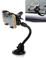 ziqiao um 360 ° drehbar Auto Windschutzscheibe Windschutzscheibenhalterung Halterung Dual-Clip für Telefon GPS