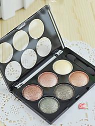 6 Lidschattenpalette Trocken Lidschatten-Palette Puder Normal Alltag Make-up