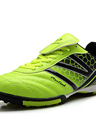 Zapatos Fútbol Sintético Negro / Naranja Hombre