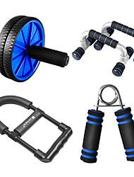Four Sets of Power Shuangpai Men Abdominal Wwheel / Push Up Rack / Wrist Force / Grip Home Fitness Equipment SC-8523