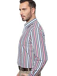 JamesEarl Herren Hemdkragen Lange Ärmel Shirt & Bluse Rot - MB1XC001101