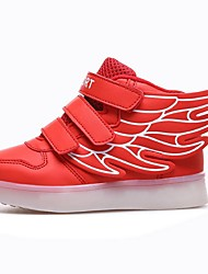 Girl's Fall / Winter Comfort / Square Toe Customized Materials Outdoor / Athletic Flat Heel Multi-color