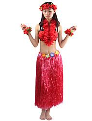 Costumes de Cosplay / Costume de Soirée Burlesques/Clown Fête / Célébration Déguisement HalloweenRouge / Violet / Blanc / Incarnadin /