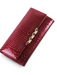 Minaudière / Portefeuille / Etui à Carte & Pièce d'Identité / Porte-chéquier / Mobile Bag Phone - Triple Portefeuille -Blanc / Rouge /