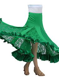 Moderner Tanz-Balletröckchen und Röcke(Schwarz Fuchsie Grün Rot,Milchfieber,Moderner Tanz) - fürDamen Rock