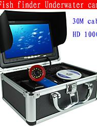 """7 """"trouveur de poissons caméra sous-marine 30m détecteur de poissons professionnelle caméra vidéo de pêche sous-marine 1000tvl ca"""