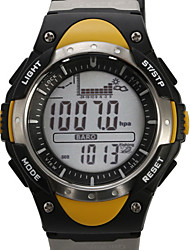 SUNROAD Fishing Barometer Multifunction Digital Sport Watch Altimeter Barometer Pedometer Stopwatch Wrist Watch Cool Watch Unique Watch